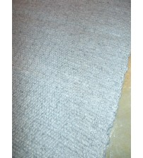 Gyapjúfilc rongyszőnyeg szürke 70 x 150 cm