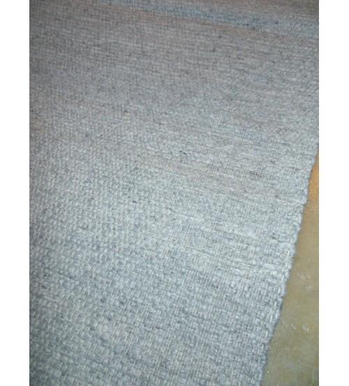 Gyapjúfilc rongyszőnyeg szürke 70 x 200 cm