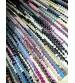 Hagyományos rongyszőnyeg színes 55 x 190 cm