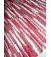 Hagyományos rongyszőnyeg piros, fehér 60 x 200 cm