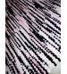 Hagyományos rongyszőnyeg rózsaszín, fekete 60 x 195 cm