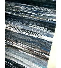 Hagyományos rongyszőnyeg színes 60 x 195 cm