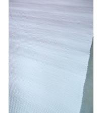 Pamut rongyszőnyeg fehér 60 x 225 cm