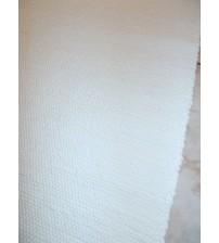 Pamut rongyszőnyeg törtfehér 70 x 190 cm