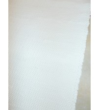 Pamut rongyszőnyeg világos nyers 70 x 200 cm