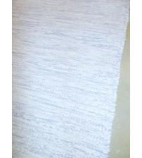Pamut rongyszőnyeg kék, fehér 75 x 170 cm