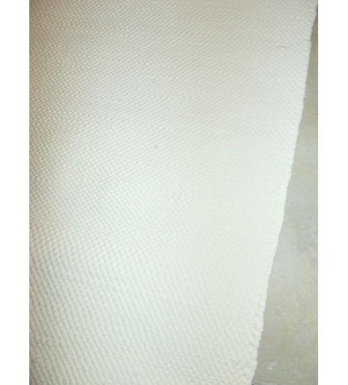 Pamut rongyszőnyeg nyers 75 x 155 cm