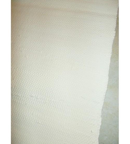 Pamut rongyszőnyeg nyers 75 x 210 cm