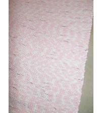 Pamut rongyszőnyeg rózsaszín, nyers 70 x 170 cm