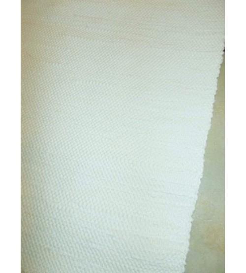 Pamut rongyszőnyeg nyers 65 x 70 cm