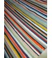 Pamut rongyszőnyeg színes 85 x 180 cm