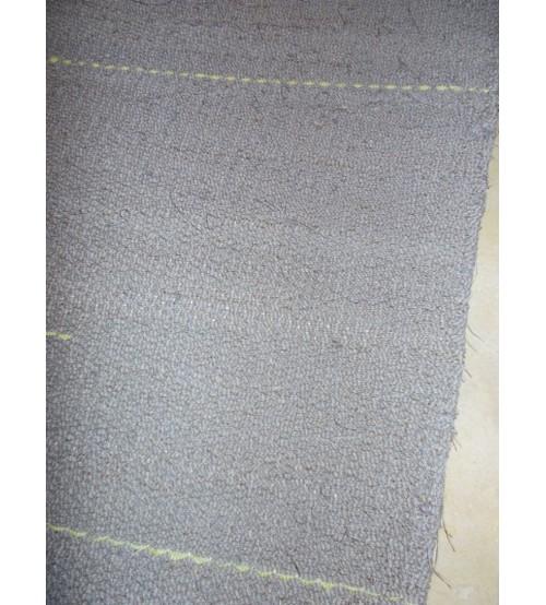 Vászon rongyszőnyeg szürke, zöld 80 x 135 cm