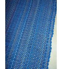 Vászon rongyszőnyeg kék 70 x 200 cm