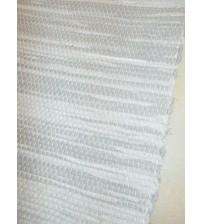 Vászon rongyszőnyeg szürke 70 x 100 cm
