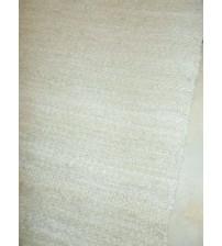Vászon rongyszőnyeg barna 65 x 155 cm