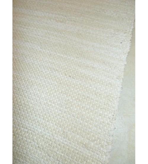 Vászon rongyszőnyeg barna 65 x 200 cm