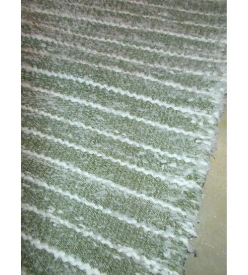 Memory rongyszőnyeg zöld, fehér 65 x 80 cm