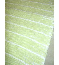Memory rongyszőnyeg sárga, fehér 60 x 100 cm