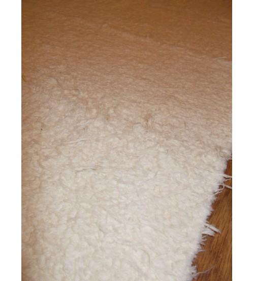 Bolyhos rongyszőnyeg nyers 70 x 150 cm