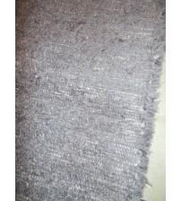 Bolyhos rongyszőnyeg szürke 60 x 135 cm