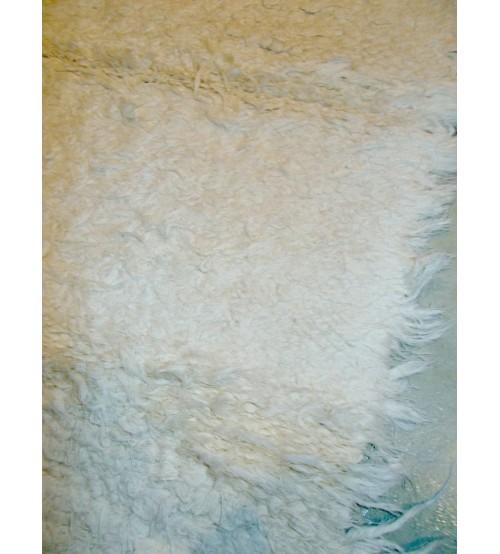 Bolyhos rongyszőnyeg nyers 60 x 100 cm