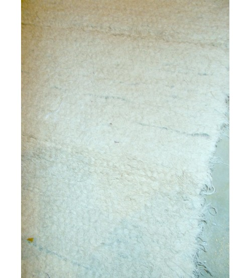 Bolyhos rongyszőnyeg nyers 55 x 100 cm