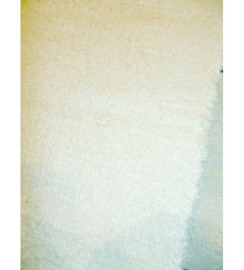 Bolyhos rongyszőnyeg nyers 70 x 145 cm