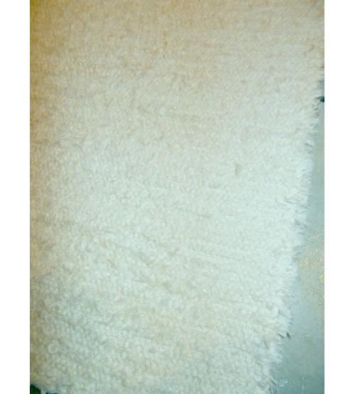 Bolyhos rongyszőnyeg nyers 75 x 170 cm