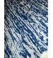 Bolyhos rongyszőnyeg kék, szürke 75 x 150 cm