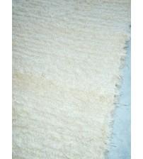 Bolyhos rongyszőnyeg nyers 75 x 70 cm