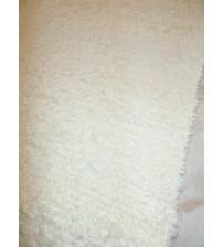 Bolyhos rongyszőnyeg nyers 70 x 190 cm