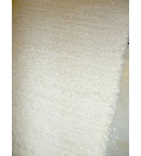 Bolyhos rongyszőnyeg nyers 80 x 195 cm