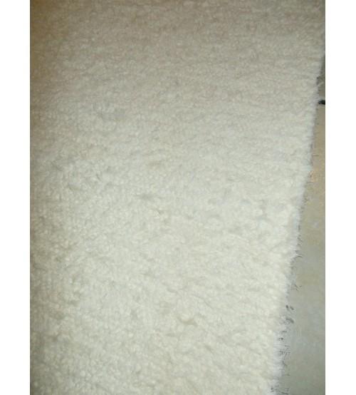 Bolyhos rongyszőnyeg nyers 75 x 205 cm