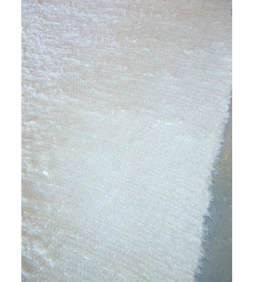 Bolyhos rongyszőnyeg nyers 155 x 195 cm