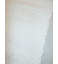 Bolyhos rongyszőnyeg nyers 80 x 145 cm