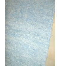 Bolyhos rongyszőnyeg kék 70 x 150 cm