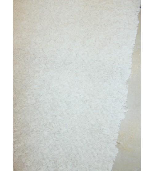 Bolyhos rongyszőnyeg szürke 70 x 150 cm