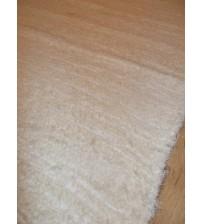 Bolyhos rongyszőnyeg nyers, fehér 70 x 100 cm