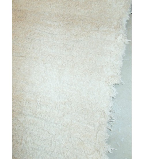 Bolyhos rongyszőnyeg nyers 145 x 240 cm