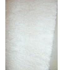 Bolyhos rongyszőnyeg fehér 75 x 110 cm