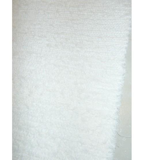 Bolyhos rongyszőnyeg fehér 160 x 200 cm