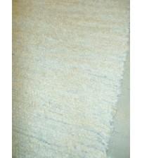 Bolyhos rongyszőnyeg nyers, szürke 70 x 200 cm