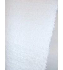 Bolyhos rongyszőnyeg fehér 75 x 200 cm