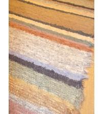 Bolyhos rongyszőnyeg színes 65 x 150 cm