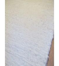 Bolyhos rongyszőnyeg fehér 70 x 100 cm