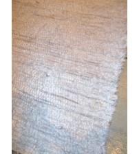 Bolyhos rongyszőnyeg fehér 75 x 100 cm